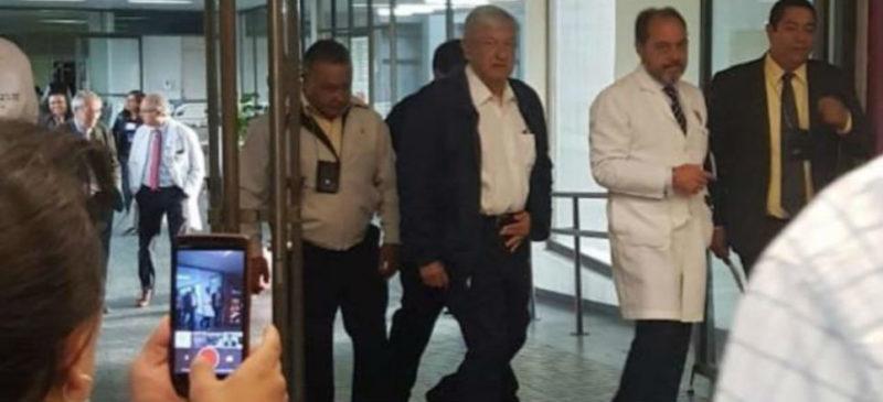 """AMLO confirma visita al cardiólogo; """"todo bien"""", dice"""