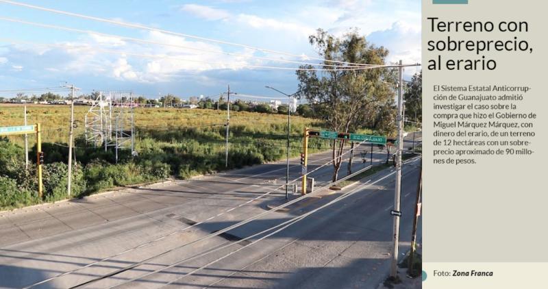 Anticorrupción de Guanajuato investigará al ex gobernador Miguel Márquez por la compra sospechosa de terreno
