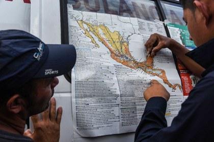 """EU advierte a integrantes de la caravana: """"no tendrán éxito de entrar ilegalmente"""""""