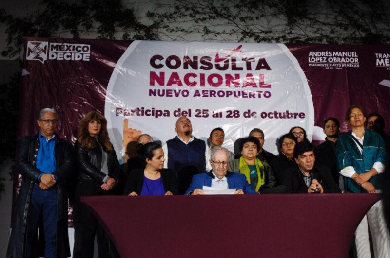 Video: El 69.95% de los participantes en la consulta le dicen NO al NAIM en Texcoco y gana Santa Lucía