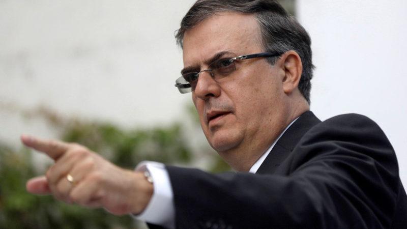 El manejo de la caravana de hondureños, maniobra política de Trump de cara a las elecciones del 6 de noviembre: Marcelo Ebrard, próximo canciller mexicano