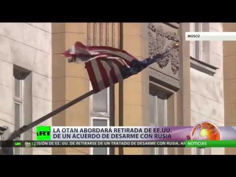 """Videos: """"Si EE.UU. sigue saliendo unilateralmente de los tratados, Rusia tomará medidas, incluso militares"""""""