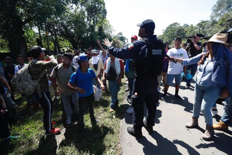 México no deportará a integrantes de la caravana hondureña