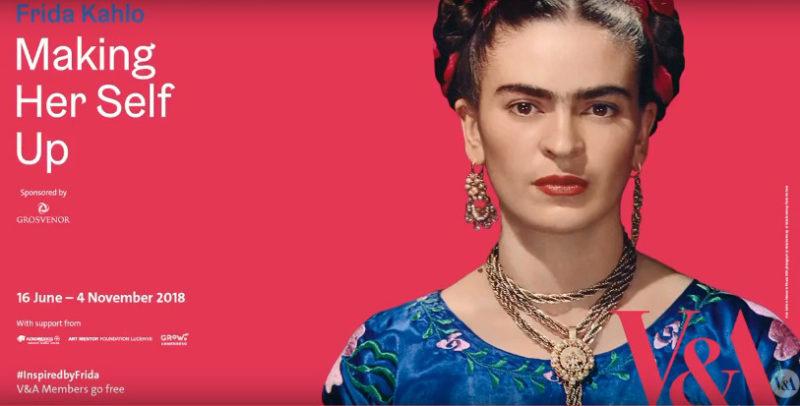 Exposición sobre Frida Kahlo en Londres rompe récord