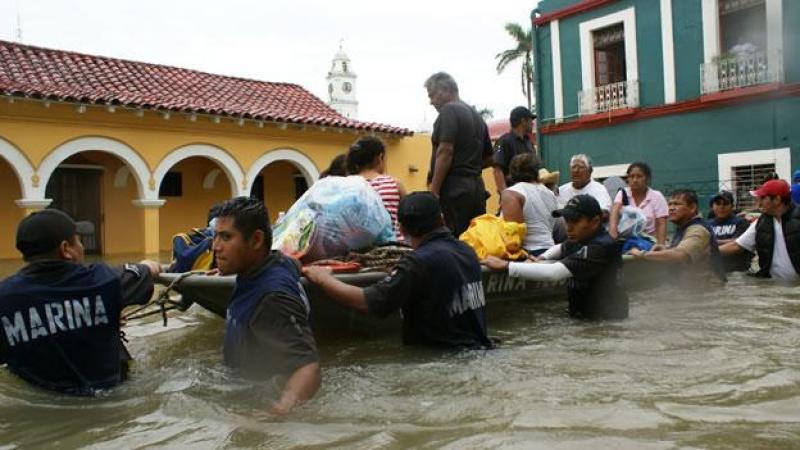 Veracruz y Oaxaca registran inundaciones fuera de lo común