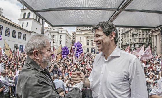 A horas de las elecciones, Haddad condena la persecución de la oligarquía contra Lula y llama a vencer el odio y la mentira