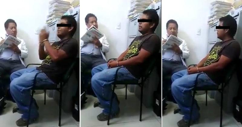"""""""Si salgo, voy a seguir matando mujeres"""", dice presunto asesino de Ecatepec; se filtra el VIDEO"""