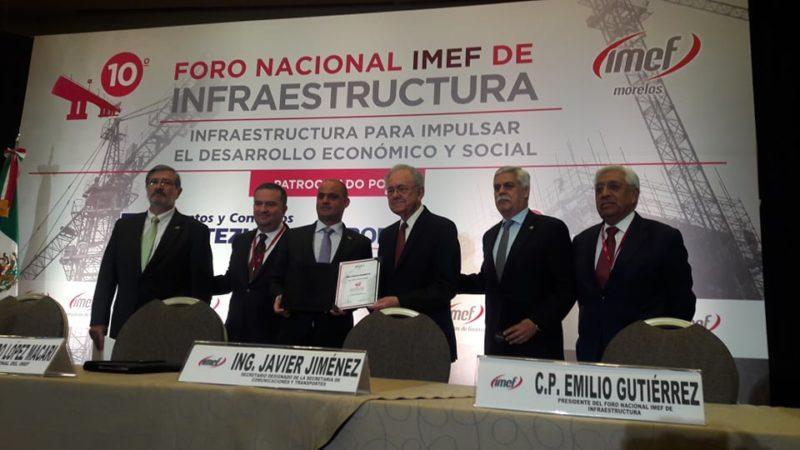 Cancelación del NAICM no implicaría pérdida de confianza de inversionistas: Jiménez Espriú