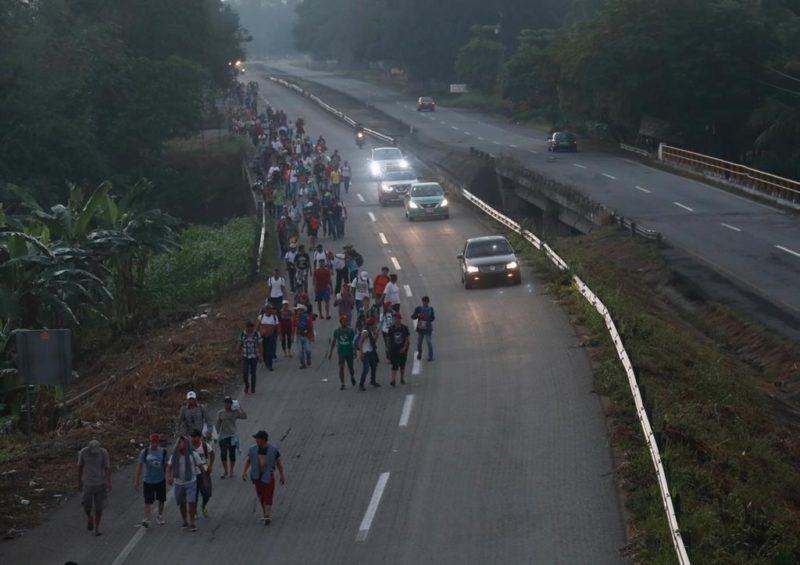 Desplazados nicaragüenses también buscan llegar a EU