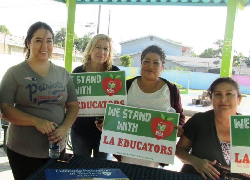 Video: El superintendente Beutner no va a imponer su ley, destacan madres y abuelas al pedirle que cumpla con exigencias de maestros para que la educación sea la misma en zonas latinas que en Beverly Hills