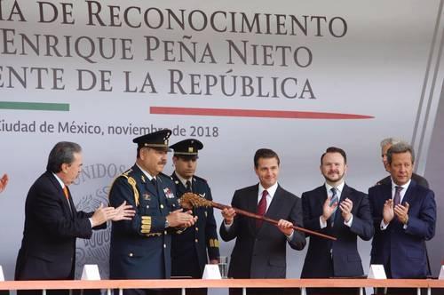 Eliminado por AMLO y al final de su existencia, el Estado Mayor Presidencial se despide de Peña Nieto