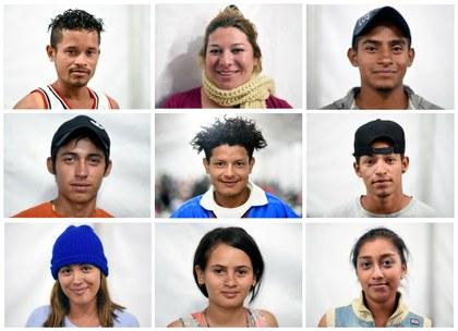 Caravana migrante: miles de historias y un motivo común: huir de la pobreza y la violencia
