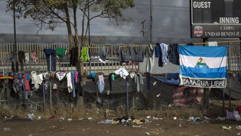 Sería muy inteligente que México detuviera las caravanas en su frontera sur: Trump. Pide a naciones centroamericanas evitar su formación