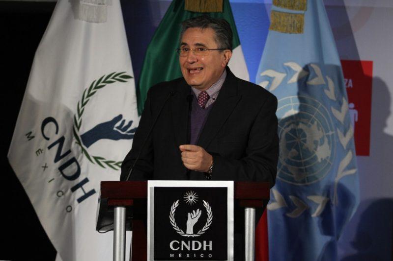 La Comisión Nacional de los Derechos Humanos pide declarar inconstitucional la ley de seguridad