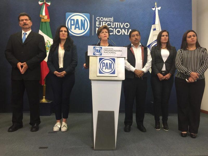 Video: Marko Cortés Mendoza ganó la elección panista. Proceso parcial, protesta Gómez Morín. Renuncia Calderón al blanquiazul