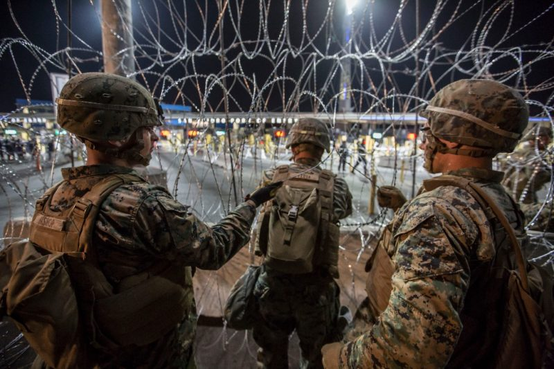 Caos sin precedente en los cruces fronterizos de Tijuana y Tecate con California
