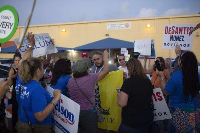En duda victorias republicanas tras conteo de votos en Florida y Arizona