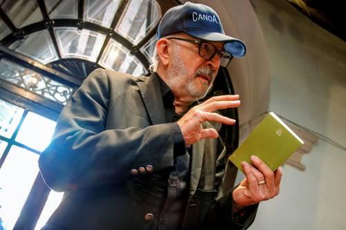 Homenaje al cineasta Felipe Cazals, autor de la cinta histórica mexicana Canoa