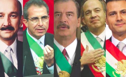 De Salinas a Peña Nieto.presidentes en la nómina del narco