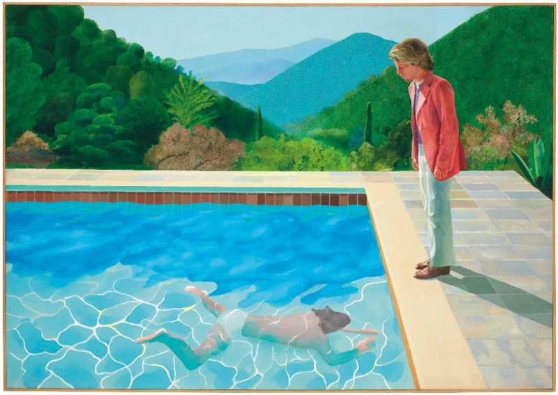 Cuadro de Hockney, récord de venta para un artista vivo