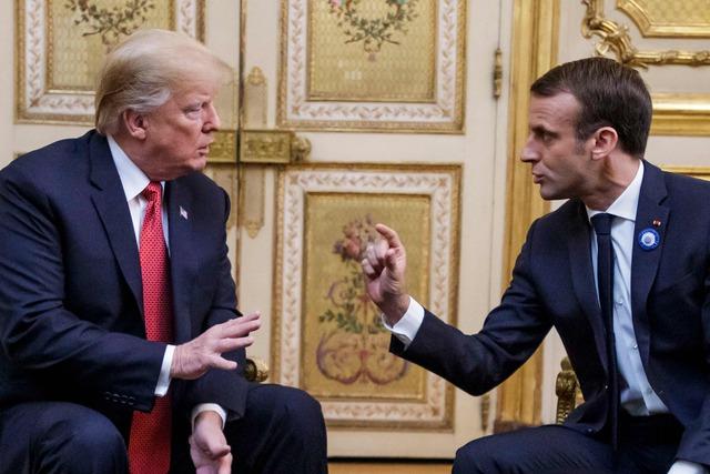 Se enfría relación EU-Francia por burlas de Trump a Macron