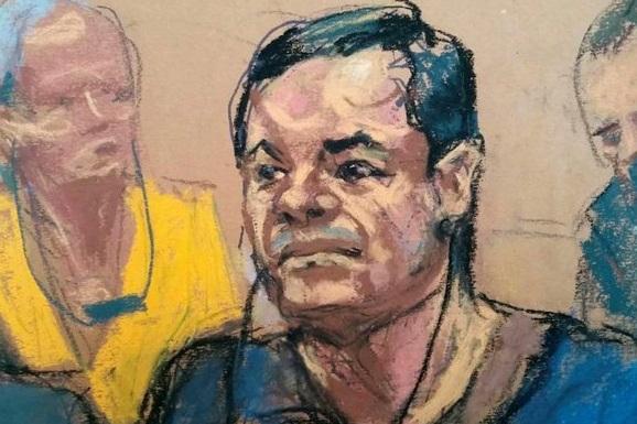 Eliminan a candidato a jurado del caso de El Chapo, por querer un autógrafo del capo