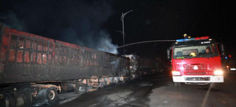 Al menos 23 personas muertas tras la explosión de un camión en el norte de China