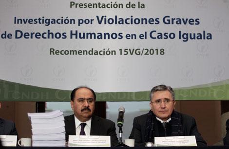 La desaparición de los 43 pudo haberse evitado: presidente de la Comisión Nacional de Derechos Humanos, Luis Raúl González Pérez