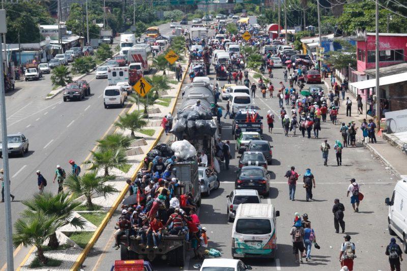 Desaprueba la ONU el envío de tropas de EU a la frontera para enfrentar a la caravana de centroamericanos