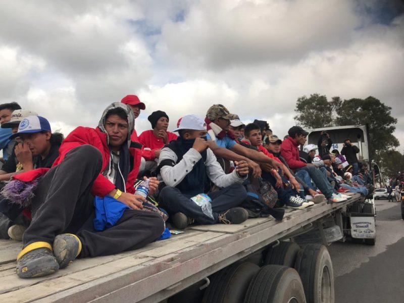 Migrantes llegan a municipios de Guanajuato