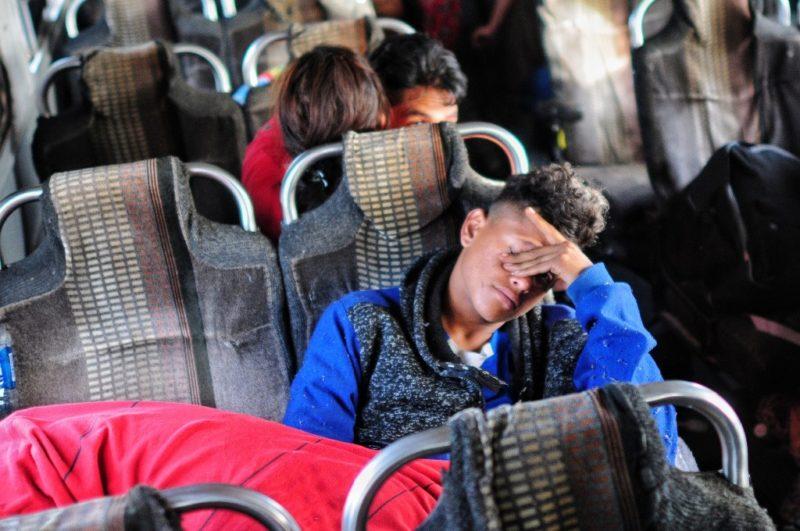 Detiene Instituto Nacional de Migracion a migrantes centroamericanos en Sonora
