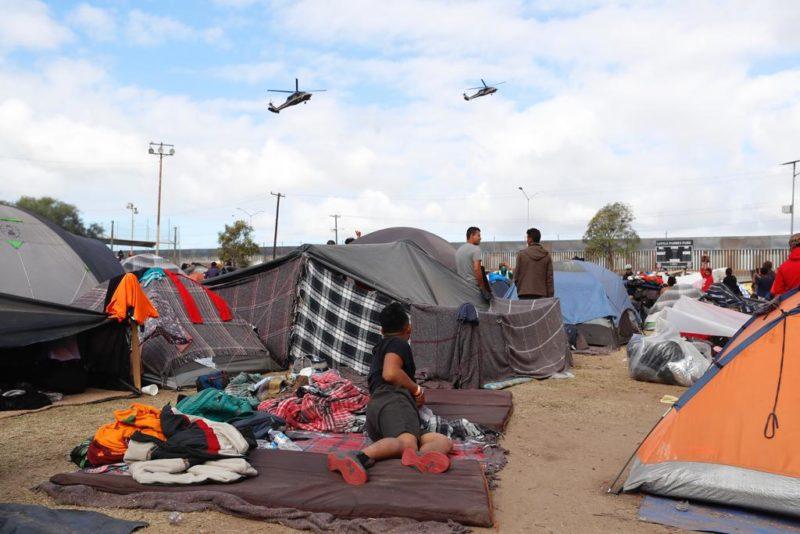 Caravana migrante: 'perreras', el riesgo para quien salga de noche