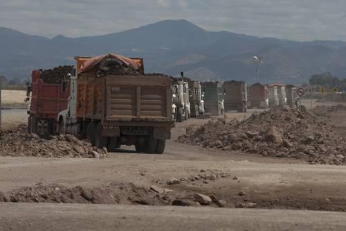 Continúa construcción del  Nuevo Aeropuerto Internacional de la Ciudad de México hasta nuevo aviso
