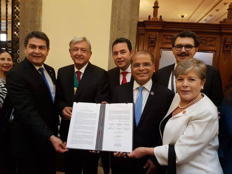 El Salvador, Guatemala, Honduras y México acuerdan Plan de Desarrollo