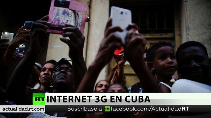 Video: Cuba inaugura este jueves servicio de Internet en teléfonos con tecnología 3G