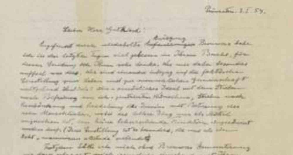 """La carta de Einstein en la que dice que Dios es producto de la """"debilidad humana"""" se subastó por 2,9 millones de dólares"""