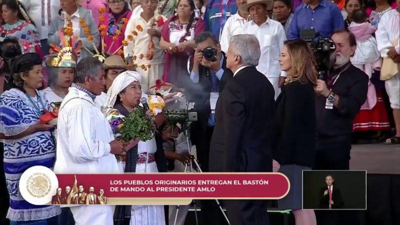 En vivo: celelebración cultural desde el Zócalo de la Ciudad de México en honor del presidente AMLO
