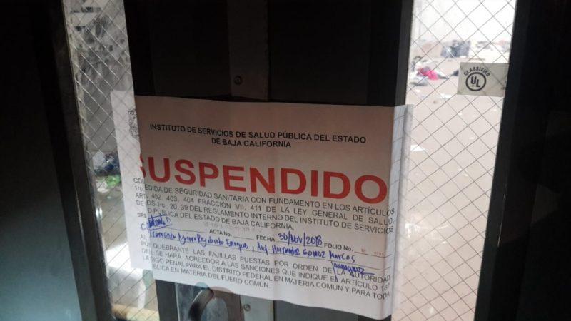 Cierran refugio de migrantes centroamericanos en Tijuana por malas condiciones