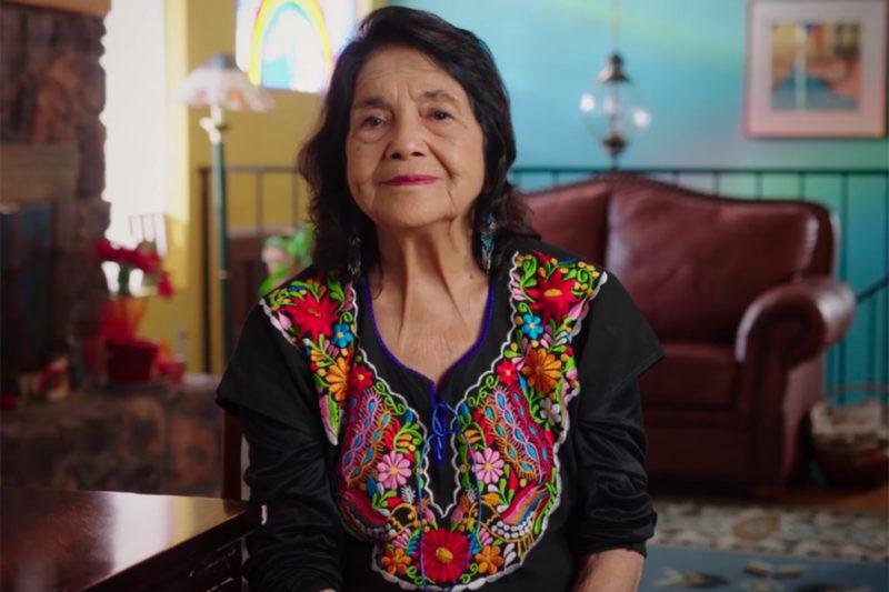 Los maestros angelinos en huelga luchan por la justicia, al igual que Martin Luther King y César Chávez, destacan Dolores Huerta y James Lawson Jr