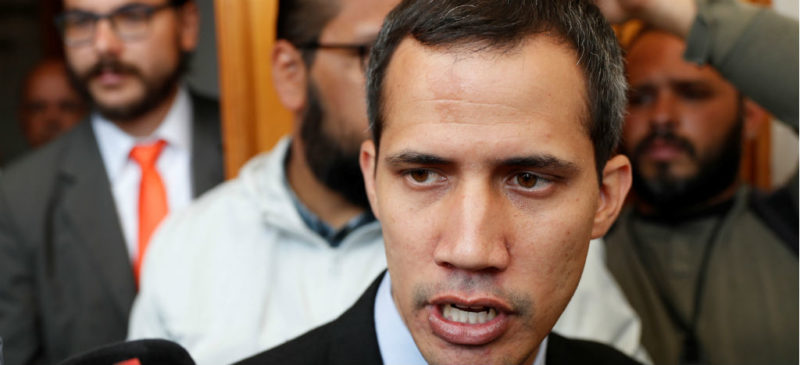 Guaidó: golpismo intransigente