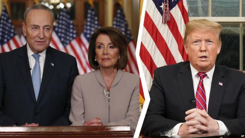 Trump y el Congreso no llegan a un acuerdo mientras que 400 mil empleados no reciben salario desde hace 17 días