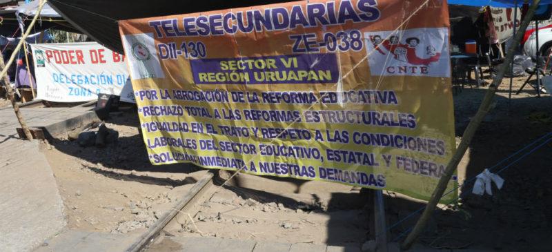 Video: Sector ferroviario ha perdido mil 700 mdp por bloqueos en Michoacán: Asociación Mexicana de Ferrocarriles