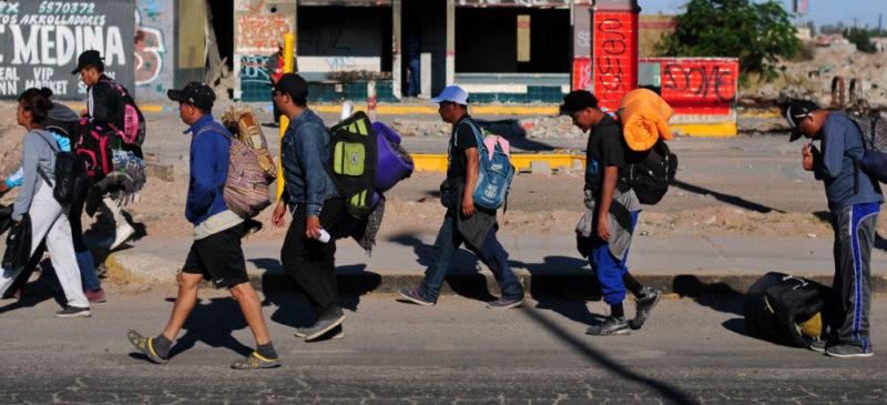 Murieron 376 inmigrantes al tratar de cruzar frontera de EU durante 2018