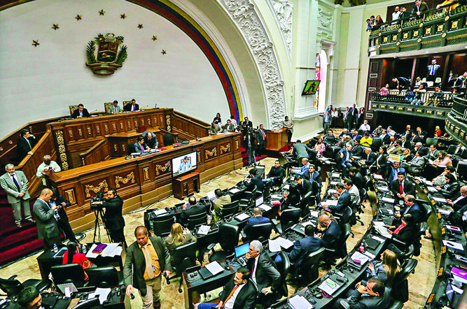 El Tribunal Supremo de Justicia de Venezuela declara nulos todos los actos de la Asamblea Nacional