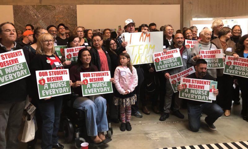 Jackie Goldberg fortalece su campaña como candidata a la titularidad del distrito 5 de LAUSD