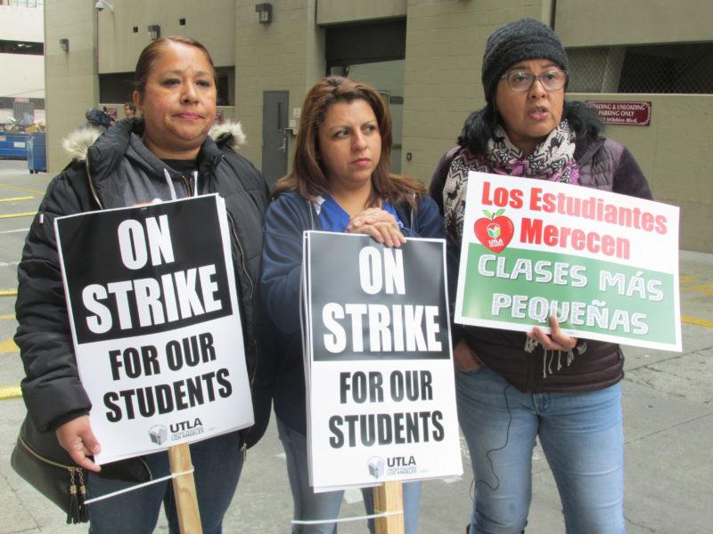 Nueva treta legal del superintendente del distrito escolar, Austin Beutner, pospone el estallamiento de huelga de los maestros, programado para el próximo jueves