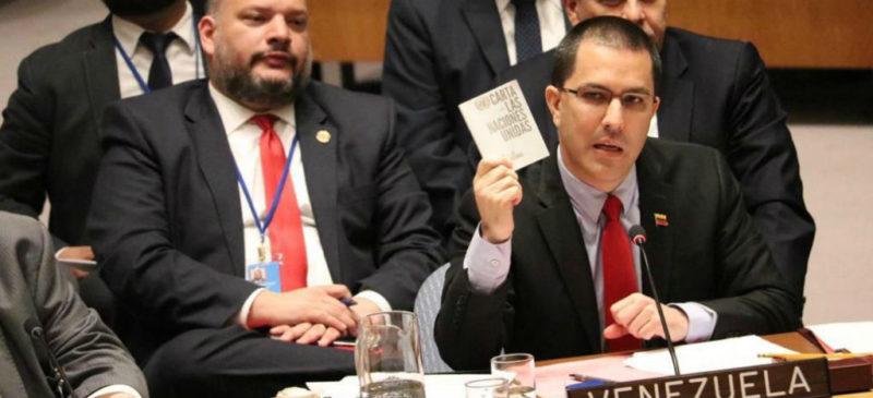 """Rechaza Venezuela ultimátum de la Unión Europea para hacer nuevas elecciones. """" No nos van a llevar a una guerra civil"""": canciller"""
