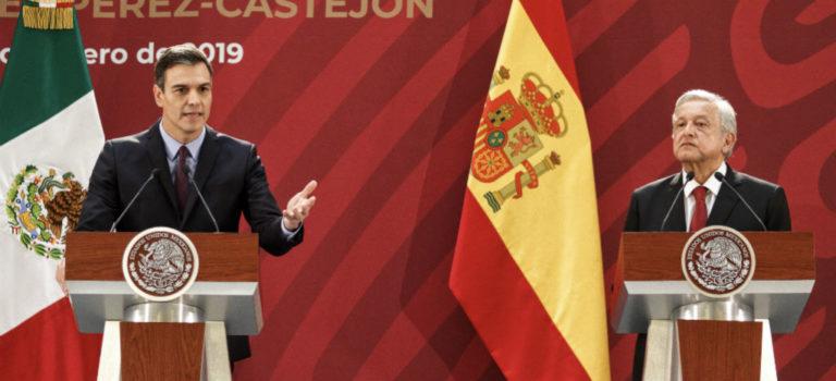 Videos: Relación entre México y España trasciende diferencias sobre Venezuela, coinciden AMLO y Pedro Sánchez