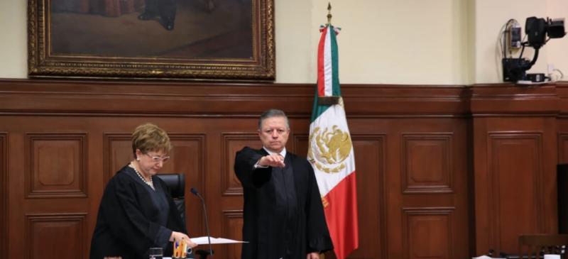 Arturo Zaldívar, nuevo presidente de la Corte y de la Judicatura