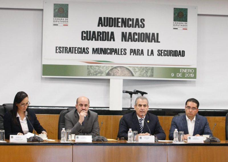 Piden alcaldes de oposición que la Guardia tenga mando civil